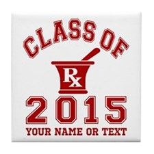 Class Of 2015 Pharmacy Tile Coaster