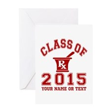 Class Of 2015 Pharmacy Greeting Card