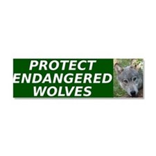 Funny Animal protection Car Magnet 10 x 3