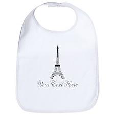 Personalizable Eiffel Tower Bib