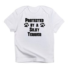 Protected By A Silky Terrier Infant T-Shirt