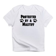 Protected By A Mastiff Infant T-Shirt