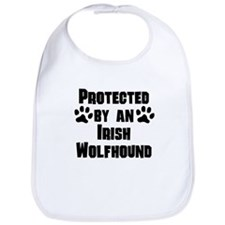 Protected By An Irish Wolfhound Bib