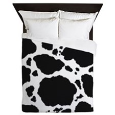 Cow Print Pattern Queen Duvet