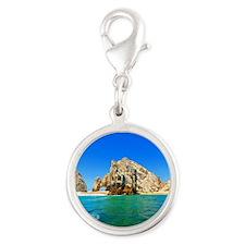 El Arco, Cabo Silver Round Charm