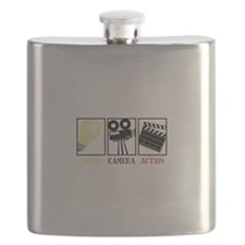 Lights Camera Action Flask