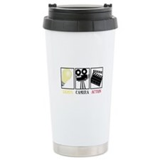 Lights Camera Action Travel Mug