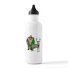Finding big buck Water Bottle