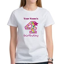 4th Birthday - Personalized! T-Shirt