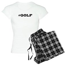 Golf Hashtag Pajamas