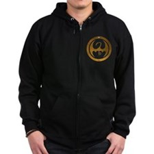 Marvel Ironfist Logo Zip Hoodie