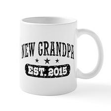 New Grandpa Est. 2015 Mug