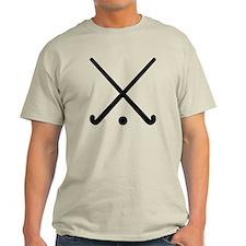 Crossed Field hockey clubs T-Shirt