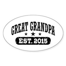 Great Grandpa Est. 2015 Decal