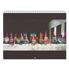Gnome Last Supper Wall Calendar