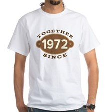 1972 Wedding Anniversary Shirt