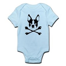 Unique Boston terrier Infant Bodysuit