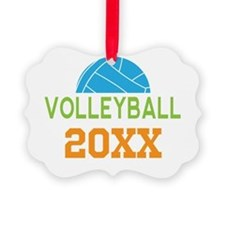 2014 Volleyball Team Ornament