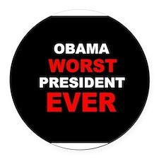 Cute Mitt romney republican democrat politics political Round Car Magnet