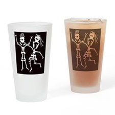 happy life Drinking Glass