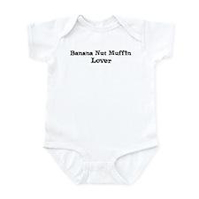 Banana Nut Muffin lover Infant Bodysuit
