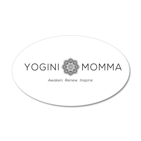 Yogini Momma Wall Decal