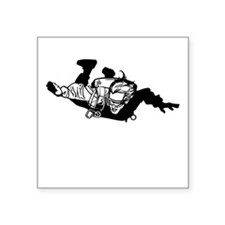 Skydiver Sticker