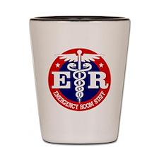 ER Staff Shot Glass