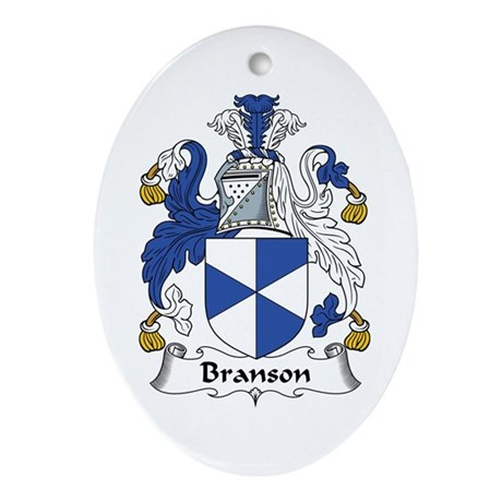 Branson Oval Ornament