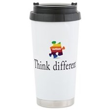 Cute Apple logo Travel Mug