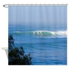 Waimea Bay Surf Hawaii Tropical Shower Curtain.