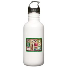Golf Collage Water Bottle