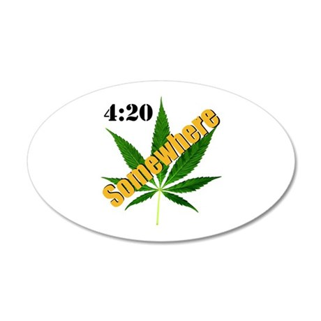 420 Somewhere Wall Decal