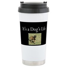 Cute Belgian malinois Travel Mug