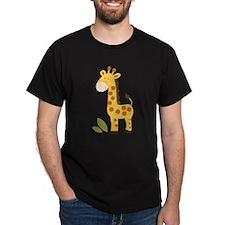 Yellow / Orange Cute Giraffe T-Shirt
