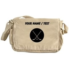 Custom Hockey Sticks Messenger Bag