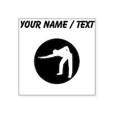 Custom Pool Player Sticker