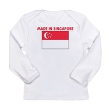 Funny World flag Long Sleeve Infant T-Shirt