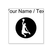 Custom Basketball Dunk Sticker