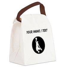 Custom Basketball Dunk Canvas Lunch Bag