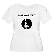 Custom Basketball Dunk Plus Size T-Shirt