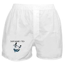 Custom Skydiving Boxer Shorts