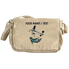 Custom Skydiving Messenger Bag