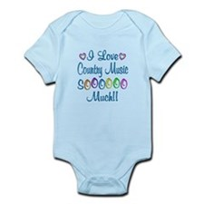 Country Love So Much Infant Bodysuit