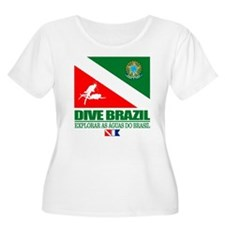 Dive Brazil Plus Size T-Shirt