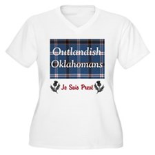 Outlandish Oklahomans Plus Size T-Shirt