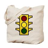 Caution Light Tote Bag