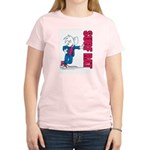 Surf Rat Women's Pink T-Shirt