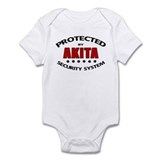 Akita Security Onesie