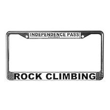 Cute Rock License Plate Frame